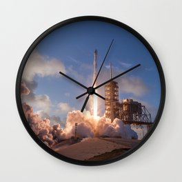 SpaceX Launch Wall Clock