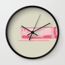 Cart #17 Wall Clock