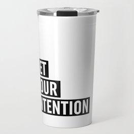 Set Your Intention Travel Mug