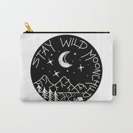 Stay Wild Moonchild Carry-All Pouch