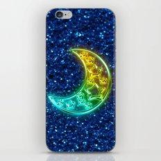Moon Night iPhone & iPod Skin