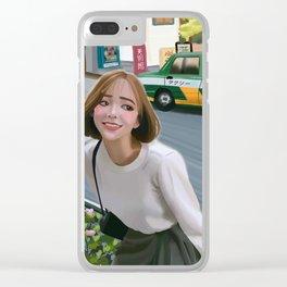 Harajuku street Clear iPhone Case
