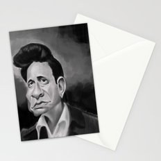 The Man in Black Stationery Cards