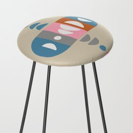 Storm Calka Space Age Counter Stool