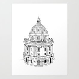 Oxford Radcliffe Camera Art Print