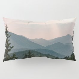 Smoky Mountain Pastel Sunset Pillow Sham