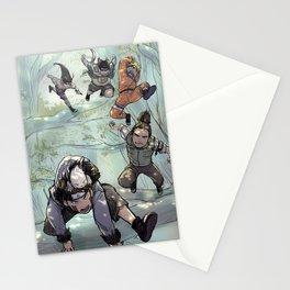 Sasuke recovery squad Stationery Cards