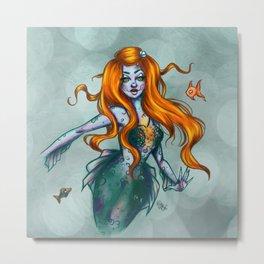 Sea lights - Mermay Metal Print