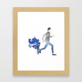 Moving art  Framed Art Print