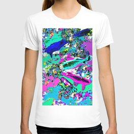 Neon Koi (Pastel) T-shirt