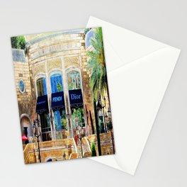 Fashion Vegas Style Stationery Cards