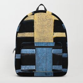 Sewer Grate Abstract Lines Backpack