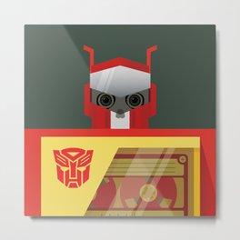 Skull Blaster Metal Print