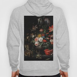 The Overturned Bouquet by Abraham Mignon Hoody