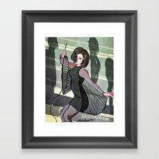 Zou Bisou Bisou Framed Art Print