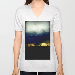 Wall Cloud  Unisex V-Neck