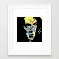 heathers Framed Art Prints featuring Graffiti Ryder by Terrestre