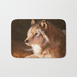 Wolf Beauty Bath Mat