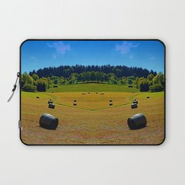 Dance of the hay bales Laptop Sleeve
