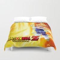 dragonball Duvet Covers featuring Vegeta Dragonball Z best idea by customgift