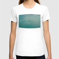 airplane T-shirts featuring Airplane by Nick De Clercq