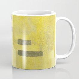 Stasis Gray & Gold 3 Coffee Mug