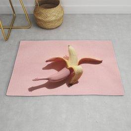 Pink banana Rug