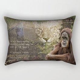 Rain forest Story Rectangular Pillow