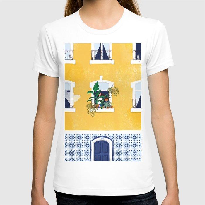 Lisbon girl T-shirt
