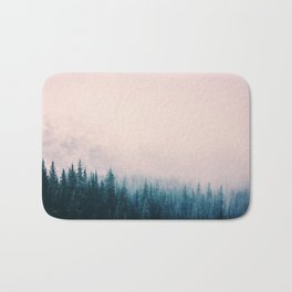 Pastel Forest Bath Mat