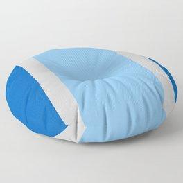 Blue Horizon Floor Pillow