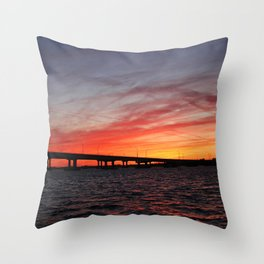 An Evening on the Caloosahatchee I Throw Pillow