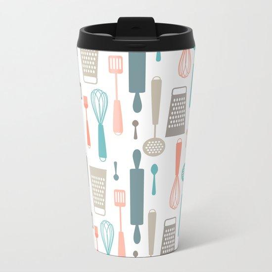 Kitchen utensils Metal Travel Mug