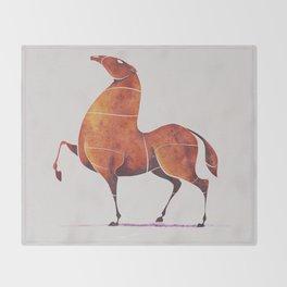 Horse 5 Throw Blanket