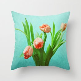 Delightful Display Throw Pillow