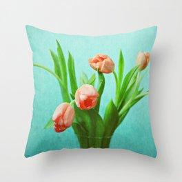 Delightful Display Throw Pillow