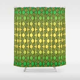Ganja Pattern Shower Curtain