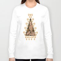 rose gold Long Sleeve T-shirts featuring Rose Gold by Shannice Wollcock