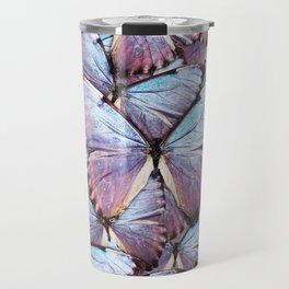 Iridescent Butterflies Travel Mug