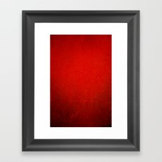 Red velvet Framed Art Print