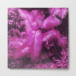 Secret Djungle Metal Print