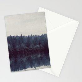 Home Forest - Forest Landscape Reflection Stationery Cards