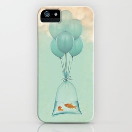 Flight to Freedom (RM) iPhone Case