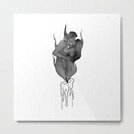 Twin flames. Metal Print