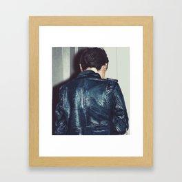 Leather Jacket (Rudeboys Live On) Framed Art Print