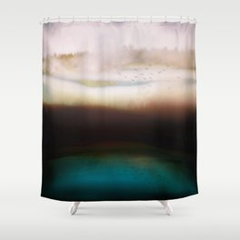 Winters Dusk Shower Curtain