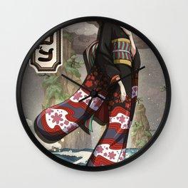 Robin wano - One piece Wall Clock