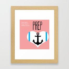 Love Prep Framed Art Print