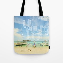 Oh Sunny Days Tote Bag
