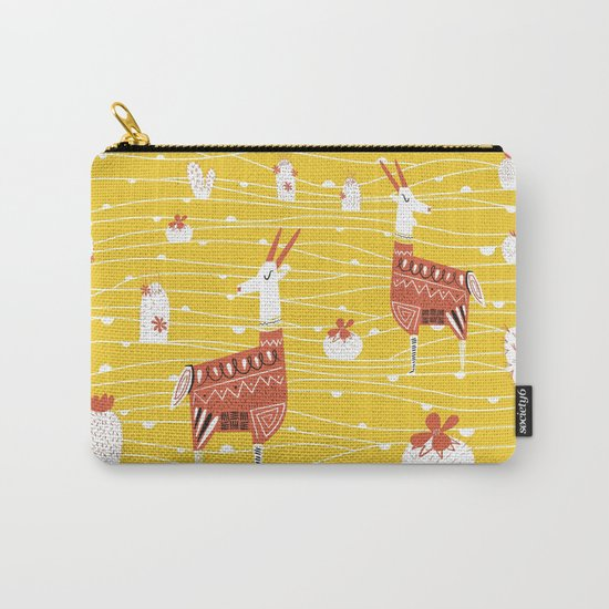 Antelope in the desert Carry-All Pouch